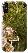 Christmas Crystal Angel 1 B IPhone Case