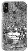 Christmas Feast, 1838 IPhone Case