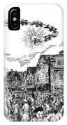 Christmas In Dock Square Rockport IPhone Case