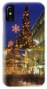 Christmas In Dublin, Henry Street At IPhone Case