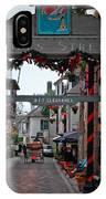 Christmas On Aviles Street IPhone Case