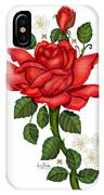 Christmas Rose 2011 IPhone X Case