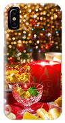 Christmas Table Set IPhone Case