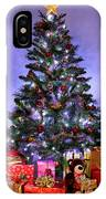 Christmas Tree And Presents IPhone Case