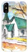 Church In Friars Point Mississippi IPhone Case