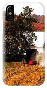Church Is Over Heading Home IPhone Case