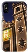 Church Lighting At Night IPhone Case