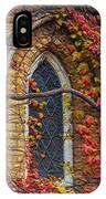 Church Window Autumn IPhone Case