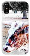 Cibolo Ranch Steer IPhone Case