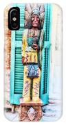 Cigar Store Indian - New Orleans IPhone Case