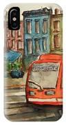 Cincinnati Streetcar IPhone Case