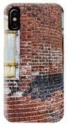 Circa 1901 Lowe Mill Art Studios Architecture Details IPhone Case