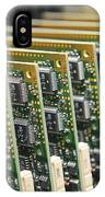 Circuit Board Production IPhone Case