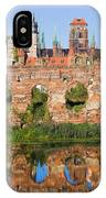 City Of Gdansk In Poland IPhone Case