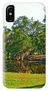 City Park Lagoon IPhone Case