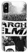 Civil Rights March, 1965 IPhone Case