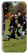 Civil Soldiers March IPhone Case