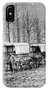 Civil War: Ambulances, C1864 IPhone Case