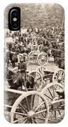 Civil War: Artillery, 1862 IPhone Case