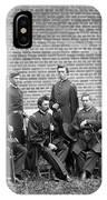 Civil War Officers IPhone Case