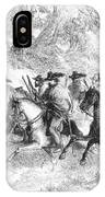 Civil War: Texas Rangers IPhone Case