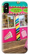 Clacton Pier Shop IPhone Case