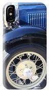 Classic Antique Car- Roaring Twenties - Detail IPhone Case