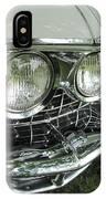 Classic Car - White Grill 1 IPhone Case