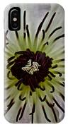 Clematis Stamen IPhone Case