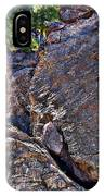 Climbing Rocks And Trees IPhone Case