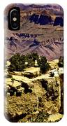 Climbing The Grand Canyon IPhone Case