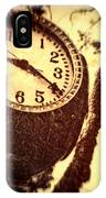 Clock In San Francisco  IPhone Case