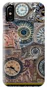Clocks Of Paris IPhone Case
