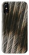 Close-up Of A Turkey Feather IPhone Case