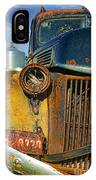 Close Up Of Rusty Truck IPhone Case