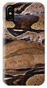 Close View Of A Brightly Patterned Boa IPhone Case