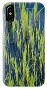 Close View Of Water Grasses Growing IPhone Case
