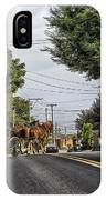 Closed On Sundays - Amish Country IPhone Case