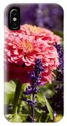 Closeup Of Colorful Flowers In Butchart IPhone Case