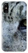 Clouded Leopard Face IPhone Case