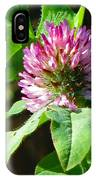 Clover Blossom Day IPhone Case