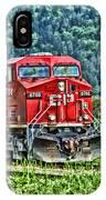 Coal Train Hdr IPhone Case