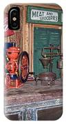 Coca Cola - Rexall - Ok Used Tires Signs And Other Antiques IPhone Case