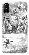 Cock Fighting, 1866 IPhone Case