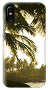 Coconut Palm Trees On The Coast IPhone Case