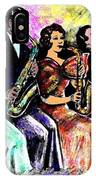 Coed Sax Section IPhone Case