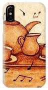 Coffee Break 2 Coffee Painting IPhone Case