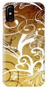 Coffee Flowers 1 Calypso IPhone Case