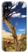 Cohab Canyon At Capitol Reef IPhone Case