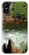 Cold Creek Waters Glen Alpine Creek IPhone Case